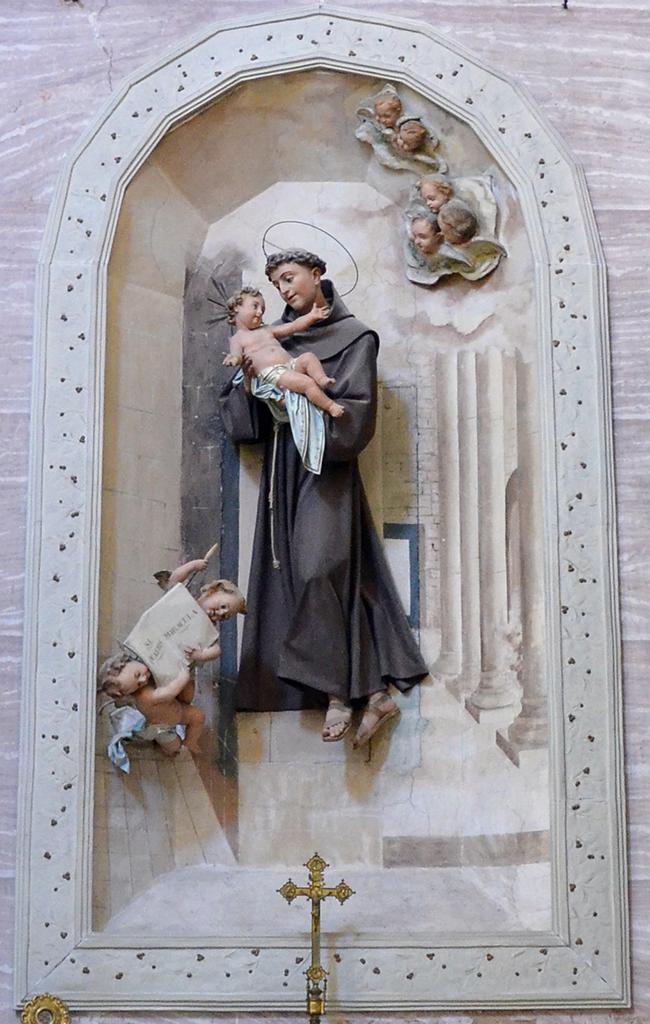 Particolare dell\\\\\\\'Altare di San Antonio da Padova
