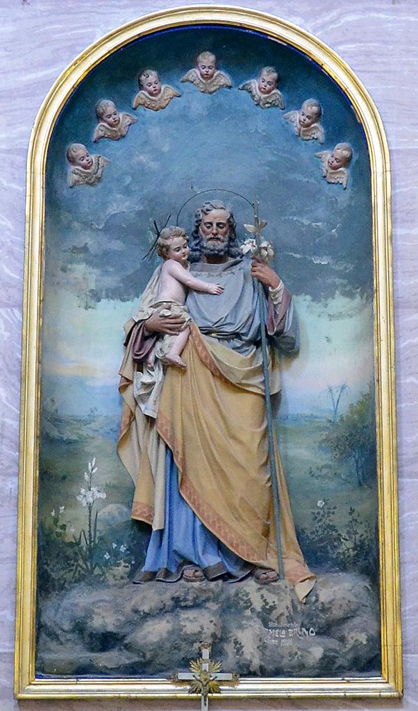 Particola dell\\\\\\\\\\\\\\\'Altare di San Giuseppe con il Bambino