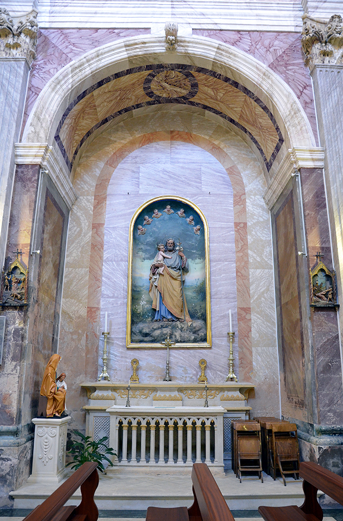 Altare di San Giuseppe con il Bambino