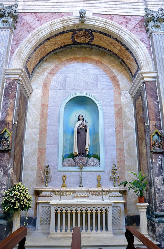Altare di Santa Teresa