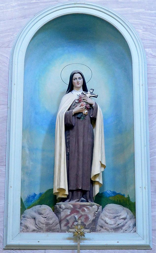 Particolare dell\\\\\\\\\\\\\\\'Altare di Santa Teresa