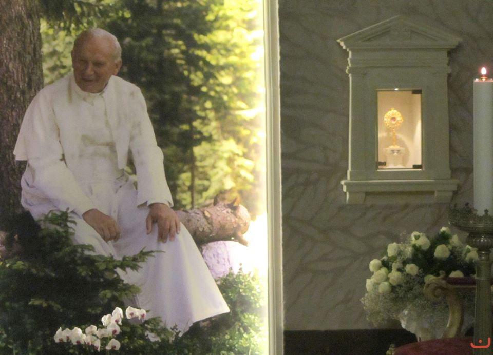 La Cappella dedicata a San Giovanni Paolo II
