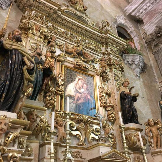 Prospettiva laterale dell\\\\\\\'Altare Maggiore